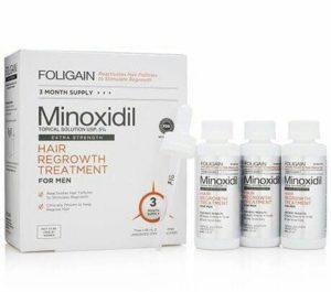 Foligain Minoxidil 5% Penumbuh Rambut & Anti Rontok Pria